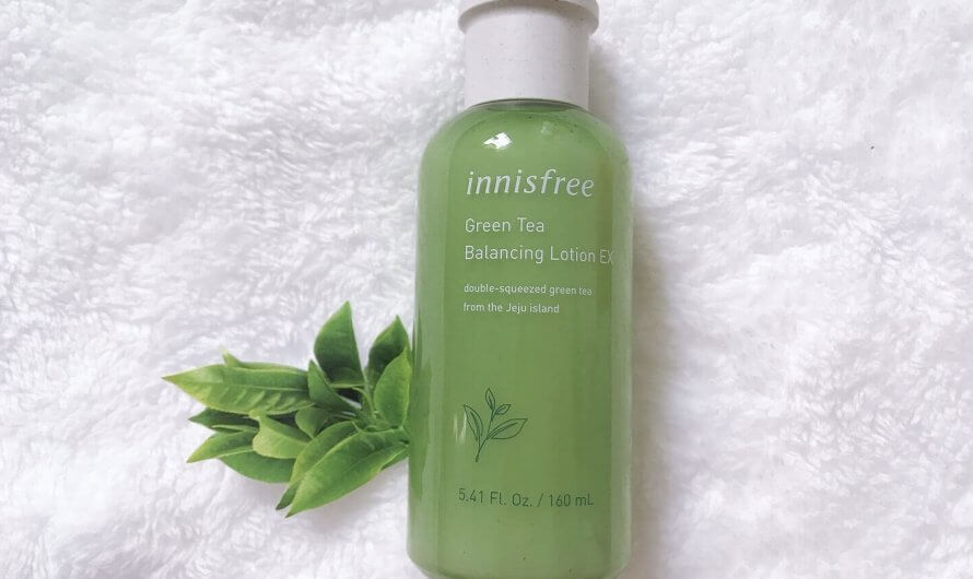 [REVIEW] Sữa dưỡng Innisfree Green Tea Balancing Lotion EX