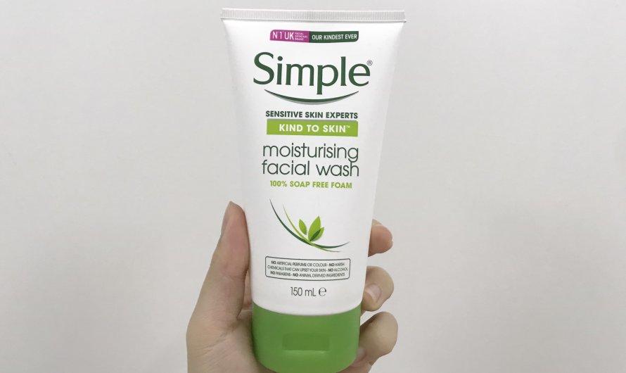 [REVIEW] Sữa rửa mặt Simple Moisturizing Facial Wash