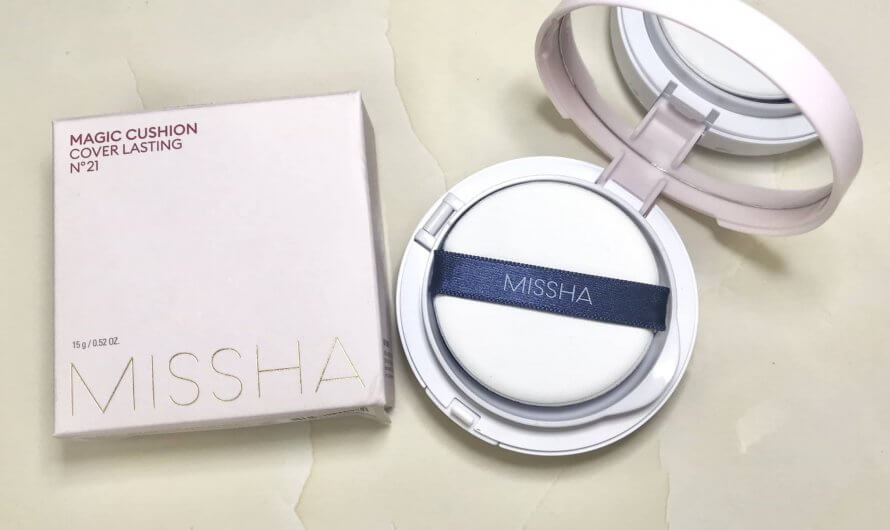 [REVIEW] Phấn nước Missha Magic Cushion Cover Lasting SPF50+/PA+++ (No.21)
