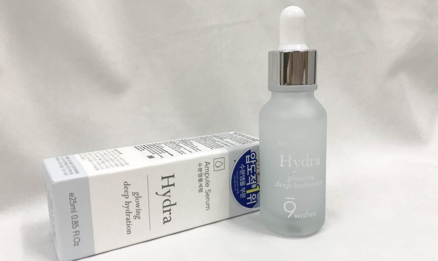 [REVIEW] Tinh chất 9Wishes Hydra Skin  Ampule  Serum