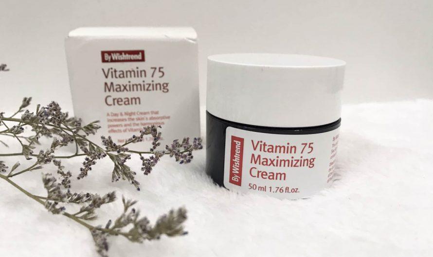Review kem dưỡng By Wishtrend Vitamin 75 Maximizing Cream