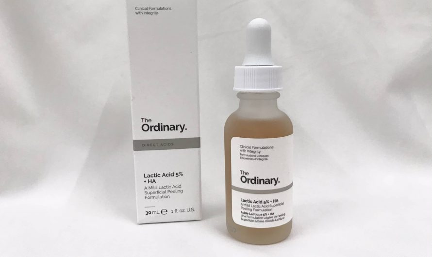Review Serum tẩy da chết The Ordinary Lactic Acid 5% + HA 2%
